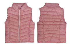 Pink waistcoat Royalty Free Stock Photography