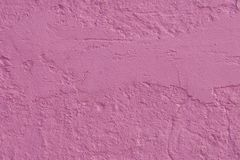Pink Wall. A close up of a textured pink wall Stock Photography