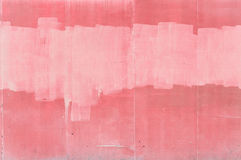 Pink wall. Abstract background of roughly painted wall Stock Photos