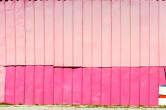 Pink wall Stock Photography