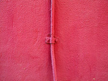 Pink wall Stock Image