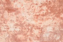 Pink wall of plaster stock photos