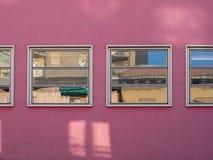 Pink wall Royalty Free Stock Image