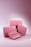 Pink wallet Royalty Free Stock Photo