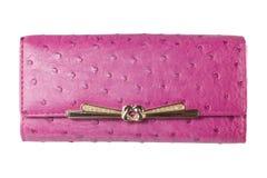 Pink wallet Stock Photos