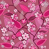 Pink wallpaper Royalty Free Stock Image