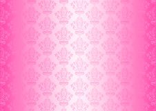 Pink wallpaper Stock Image