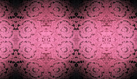 Pink Wallpaper Design Stock Photography