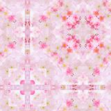 Pink Wallpaper Pattern Stock Photography