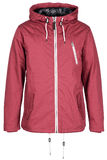 Pink warm jacket Stock Images