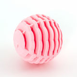 Pink washing ball, plastic balls. Stock Photos