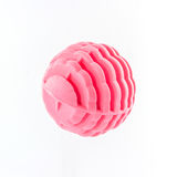 Pink washing ball, plastic balls. Royalty Free Stock Photos