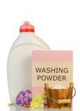Pink washing powder Royalty Free Stock Photography