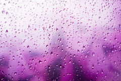 Pink water drop Royalty Free Stock Photography