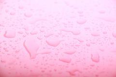 Pink Water Drops