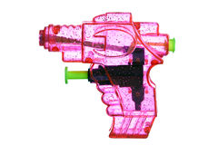 Pink water pistol Stock Photography