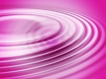 Pink water ripple Royalty Free Stock Photo
