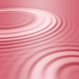 Pink water ripples or waves Stock Photos