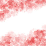 Pink watercolor Royalty Free Stock Photo