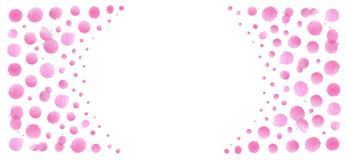 Pink watercolor background. Pink watercolor splash template. Artistic background forming by blots. Splash pink background. Soft pink watercolor background vector illustration
