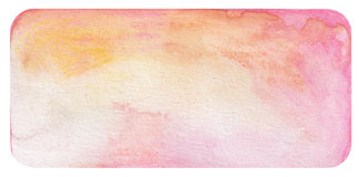 Pink watercolor background Royalty Free Stock Photos