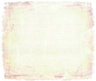 Pink watercolor on canvas Royalty Free Stock Photos