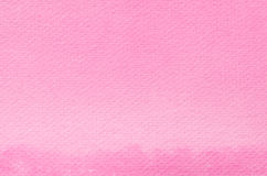 Pink watercolor painted texture Royalty Free Stock Photography