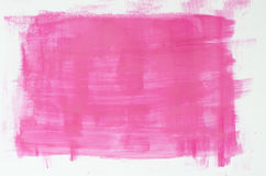 Pink watercolor painting texture Royalty Free Stock Photos