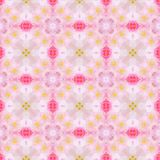 Pink Watercolor Pattern Royalty Free Stock Image