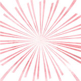 Pink watercolor rays Royalty Free Stock Images