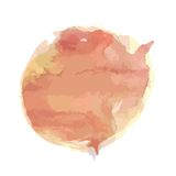 Pink watercolor spray Royalty Free Stock Images
