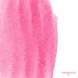 Pink watercolor squarer background Royalty Free Stock Photography