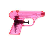 Pink Watergun Stock Image