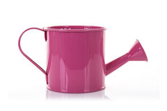 Pink Watering can Royalty Free Stock Photography