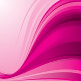 Pink_wave Royalty Free Stock Photo