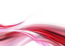 Pink wave. Dynamic pink wave to form a abstract background Royalty Free Stock Images