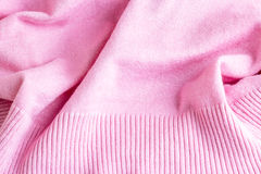 Pink wave fabric texture background. Picture Stock Photos