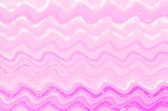 Pink wave watercolor paint  digital art background. Pink wave watercolor paint  digital modern  art background Royalty Free Stock Image