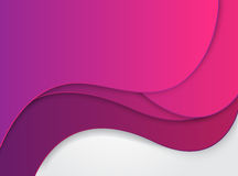 Pink waves Royalty Free Stock Images