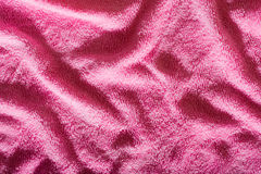 Pink wavy background texture Stock Photo