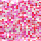 Pink wavy tiles Royalty Free Stock Image