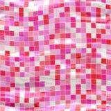 Pink Wavy Tiles Royalty Free Stock Image