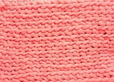 Pink weave pattern texture background Stock Images