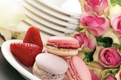 Pink wedding Stock Images