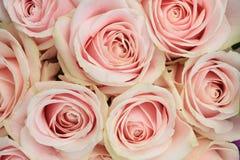 Pink wedding arrangement Royalty Free Stock Photos