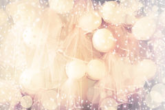 Pink wedding ballons Royalty Free Stock Photography