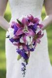 Pink wedding bouquet Stock Image