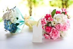 Pink wedding flower Royalty Free Stock Image