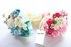 Pink wedding flower Stock Image