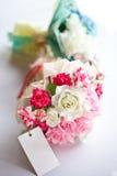 Pink wedding flower Royalty Free Stock Photos